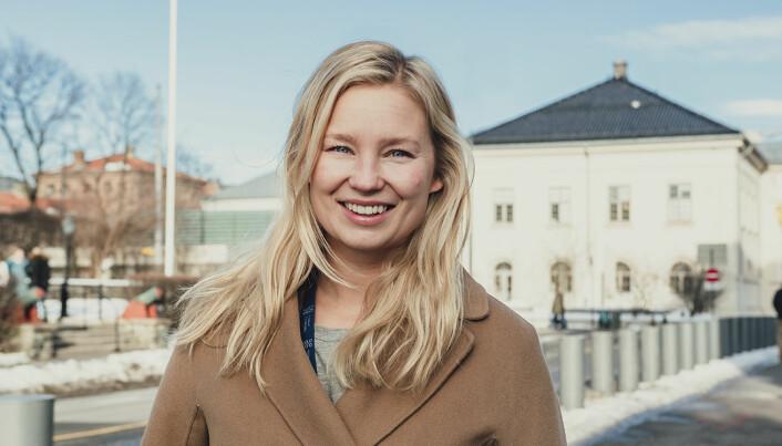 Cilia Holmes Indahl, tidligere leder for Nordic Impact. Foto: Benedicte Tandsæther-Andersen