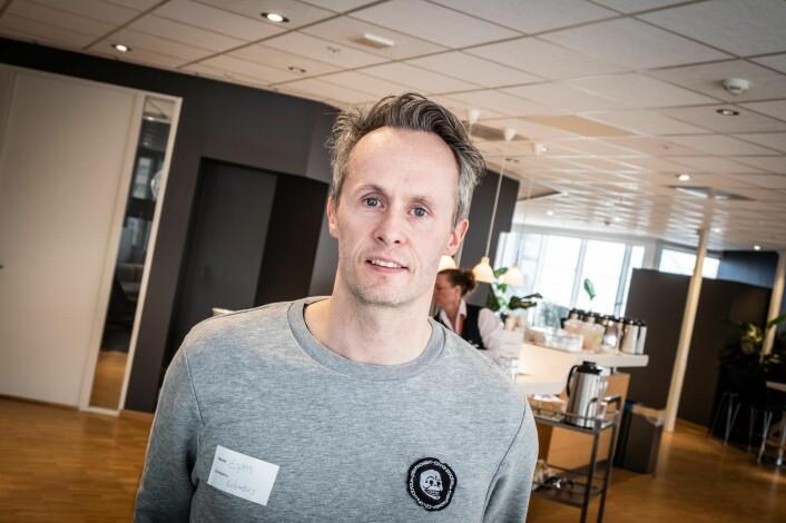 Espen Strand Henriksen, mobilitesutvikler i Kolumbus. Foto: Vilde Mebust Erichsen