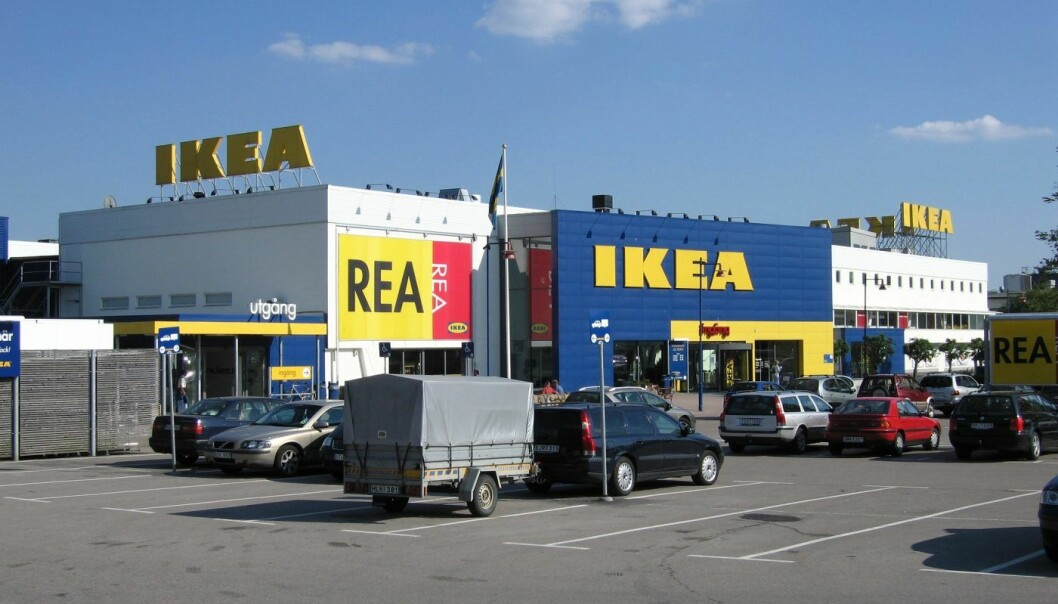 Ikea-bygget i Store Emhult. Foto: Creative Commons