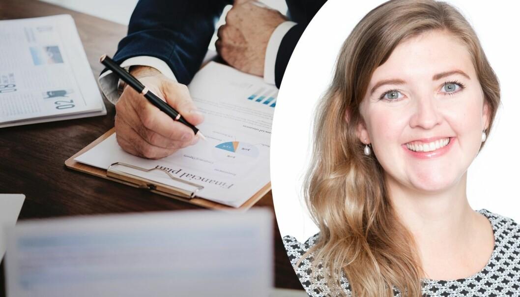 Marit Gjevik, seniorkonsulent i Sopra Steria.