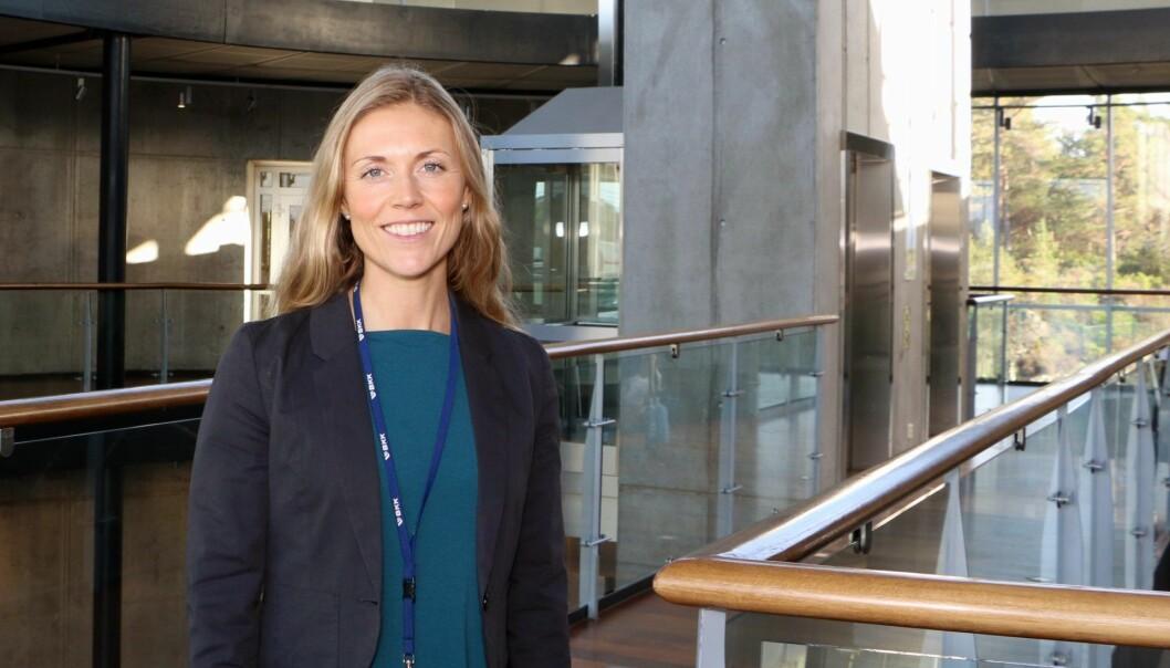 Monika Inde Zsak i BKK Spring forteller at planen er å investere i minst ti selskaper, nå som pilotprosjektet er ferdig. Foto: BKK