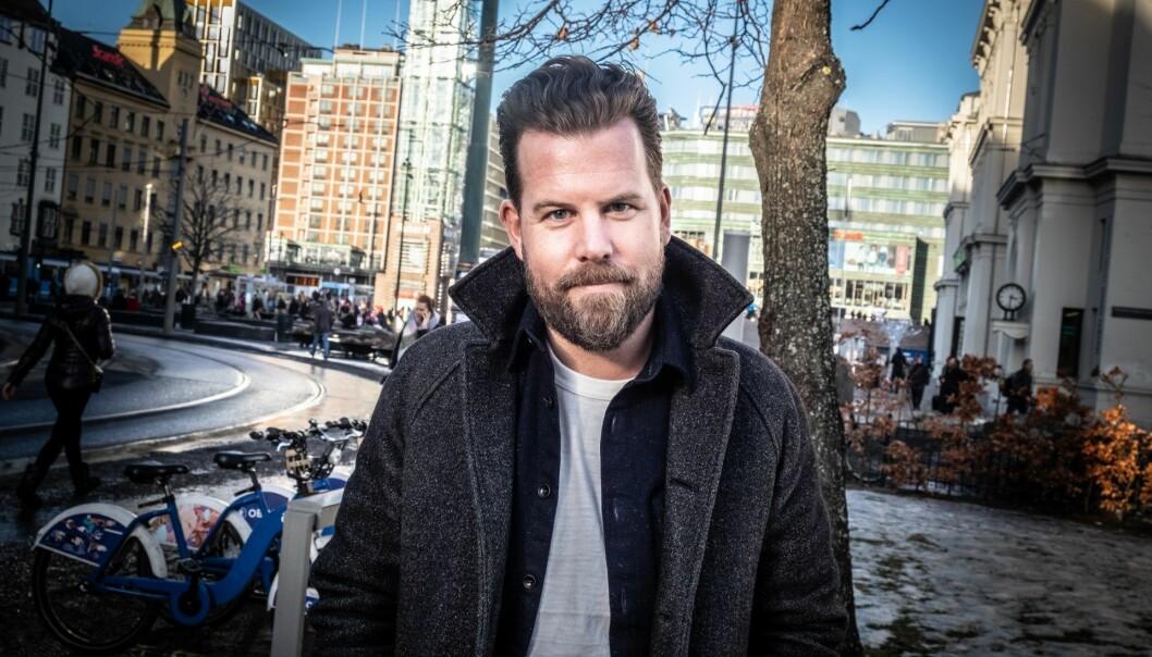 Johan Høgåsen-Hallesby, CTO i Urban Sharing. Foto: Vilde Mebust Erichsen