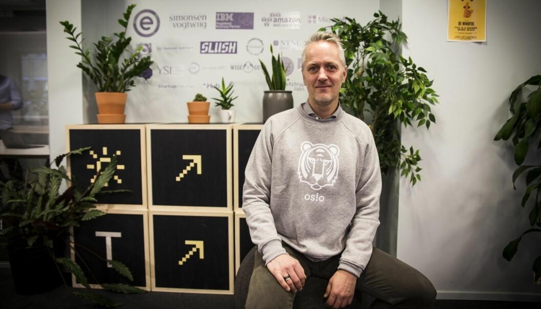 Anders Lier i Nordic Impact og Katapult. Foto: Per-Ivar Nikolaisen