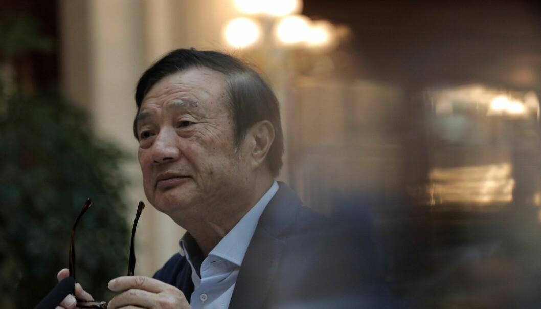 Ren Zhengfei, founder and CEO of Huawei. Foto: AP Photo/Vincent Yu