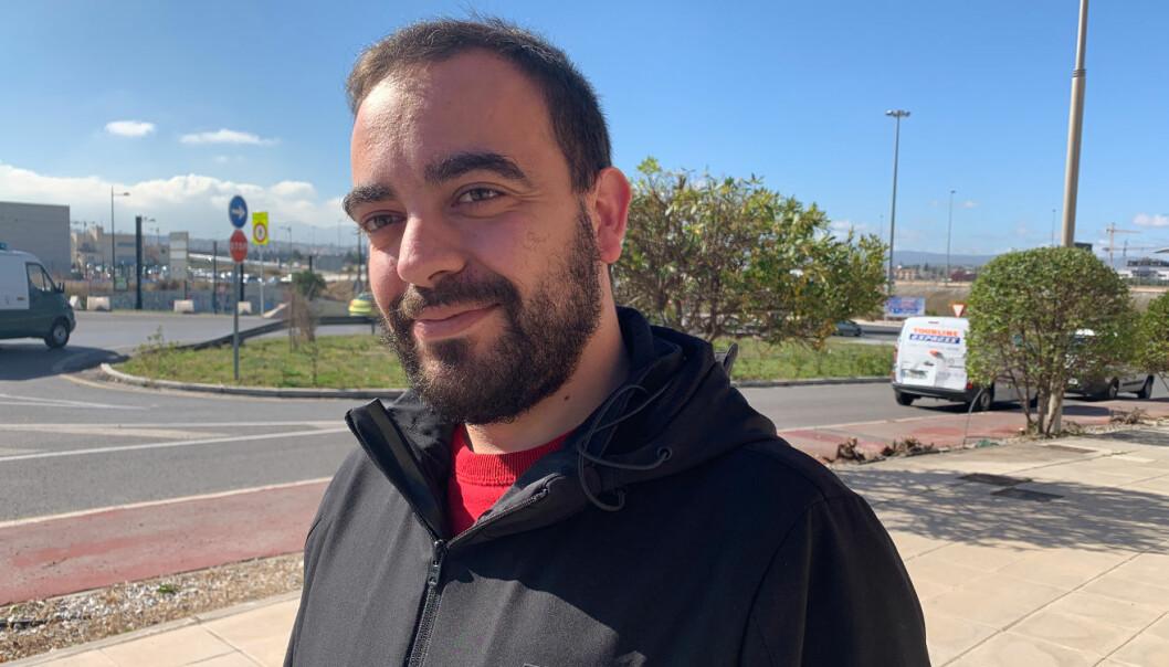 Francisco Javier Marín Gómez blir fullstackutvikler hos Front Systems.