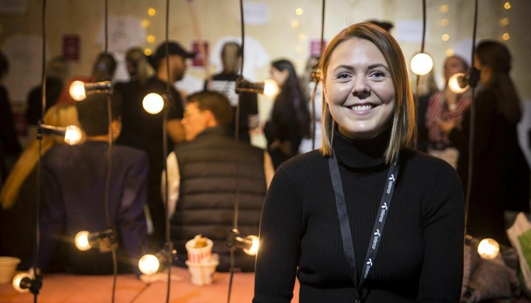 Elise Landsem, markedssjef i Folkeinvest. Foto: Per-Ivar Nikolaisen