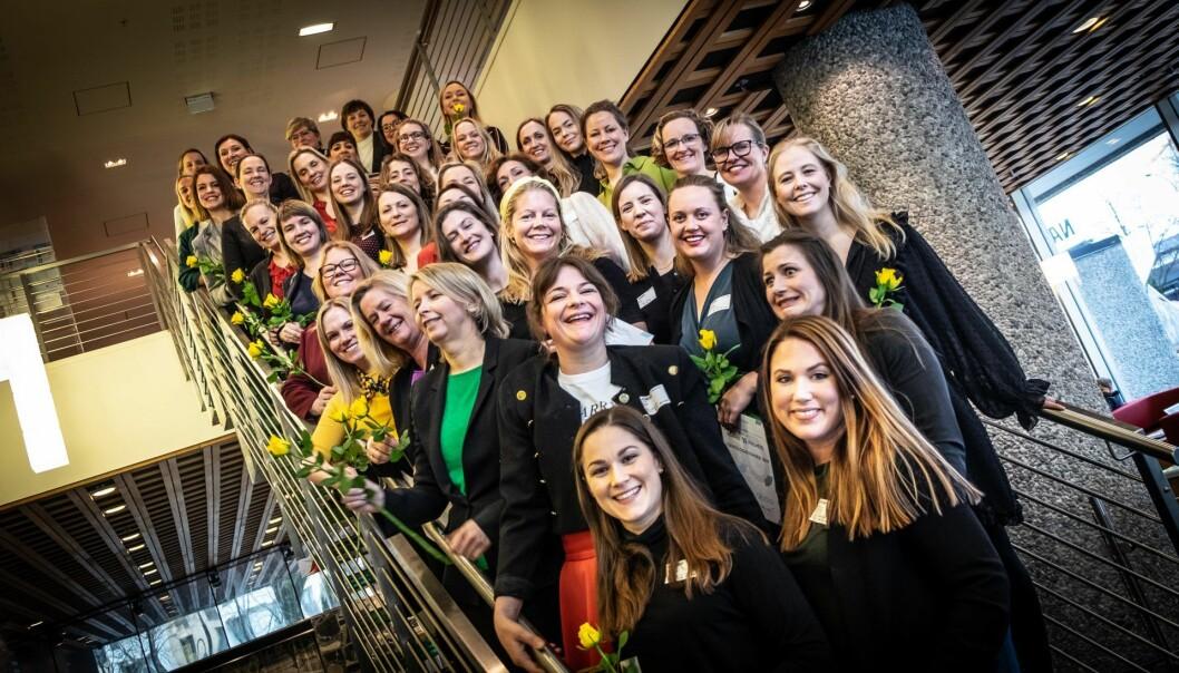 For tredje året på rad kårer Abelia og ODA-Nettverk, Nordens største nettverk for kvinner i tech, norsk næringslivs 50 fremste tech-kvinner. Foto: Vilde Mebust Erichsen