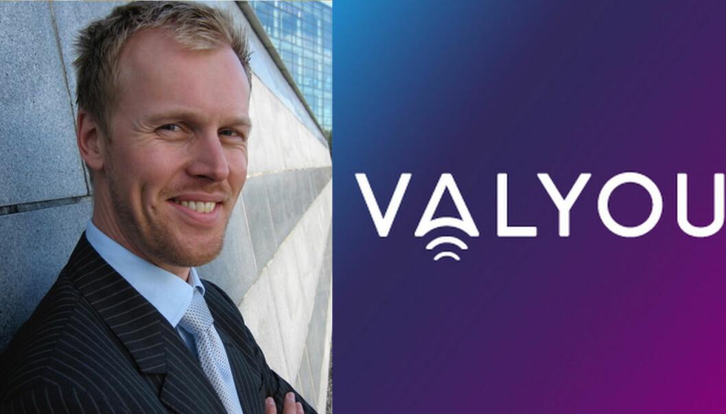 Georg Olav Ramstad fra Nets, og Valyou-logoen.