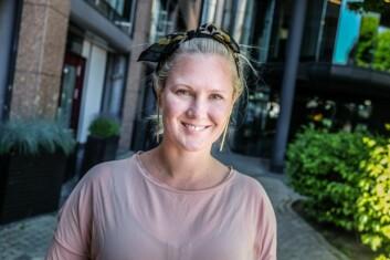 Kimberly Larsen, gründer av timetoRIOT. Foto: Vilde Mebust Erichsen
