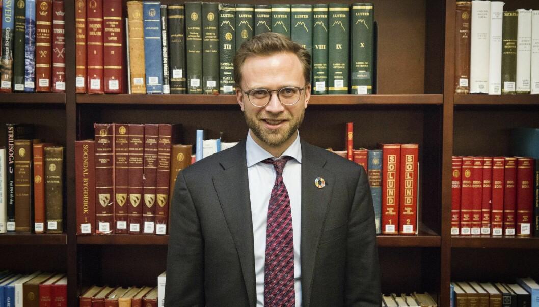 Digitaliseringsminister Nikolai Astrup. Foto: Per-Ivar Nikolaisen