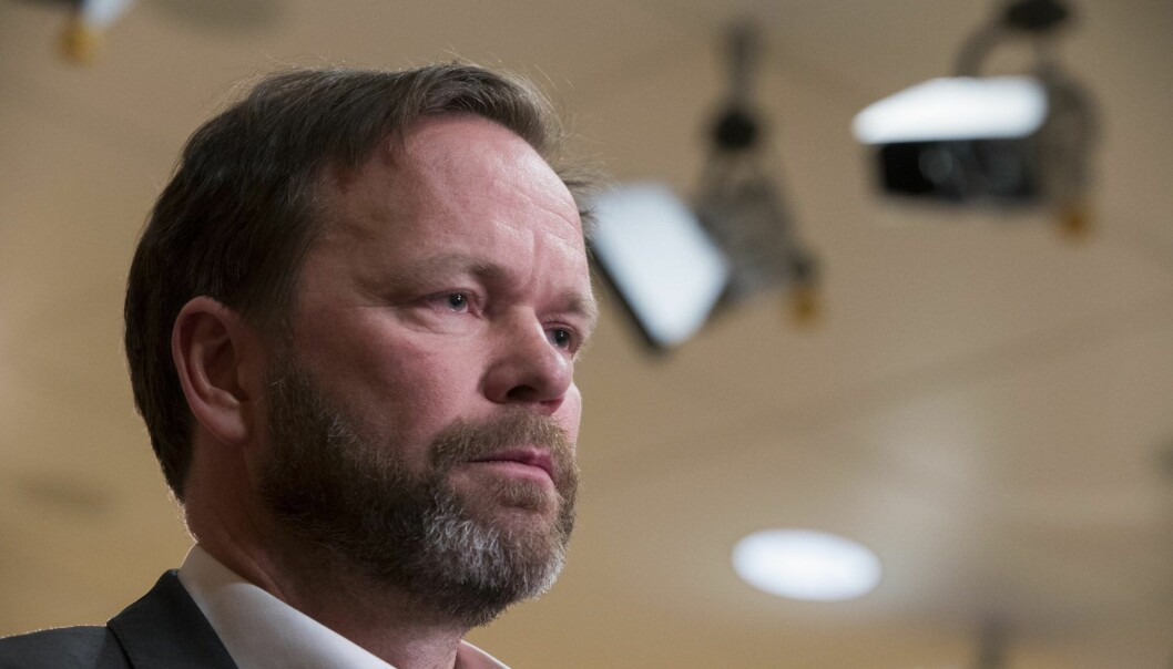 Hydrosjef Eivind Kallevik. Foto: Terje Pedersen / NTB scanpix