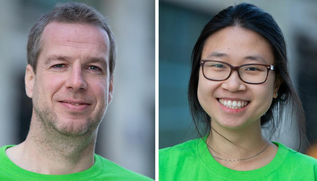 Morten Blaauw og Jessica Cao er henholdsvis ny CFO og ny juridisk rådgiver i Empower. Foto: Empower