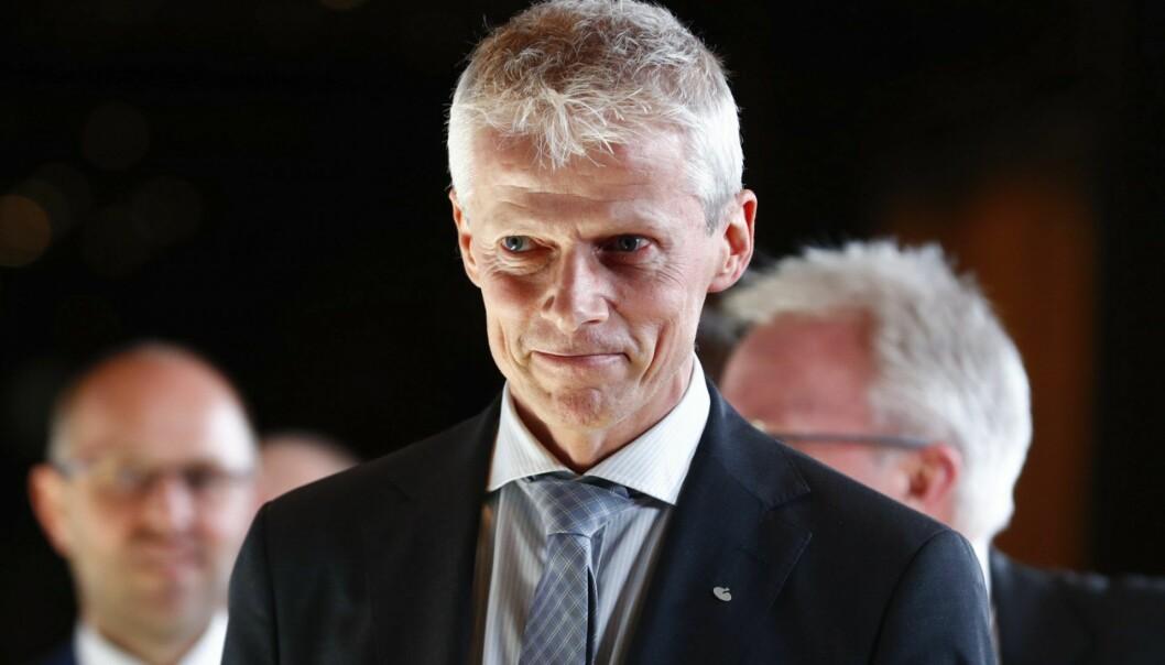 Skattedirektør Hans Christian Holte. Foto: Heiko Junge / NTB scanpix