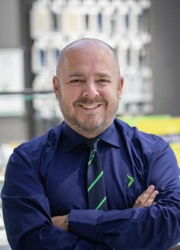 Christian Kamhaug, kommunikasjonssjef i Elkjøp. Foto: Elkjøp.