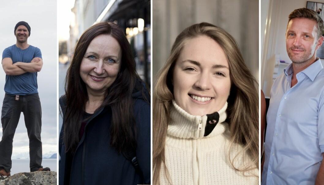 Jo Egil Tobiassen (Northern Playground), Kristin Over-Rein (Boldbooks), Andrea Holvik Thorson (Wiral) og Jarle Naustvik (Luado) har alle prøvd folkefinansiering.