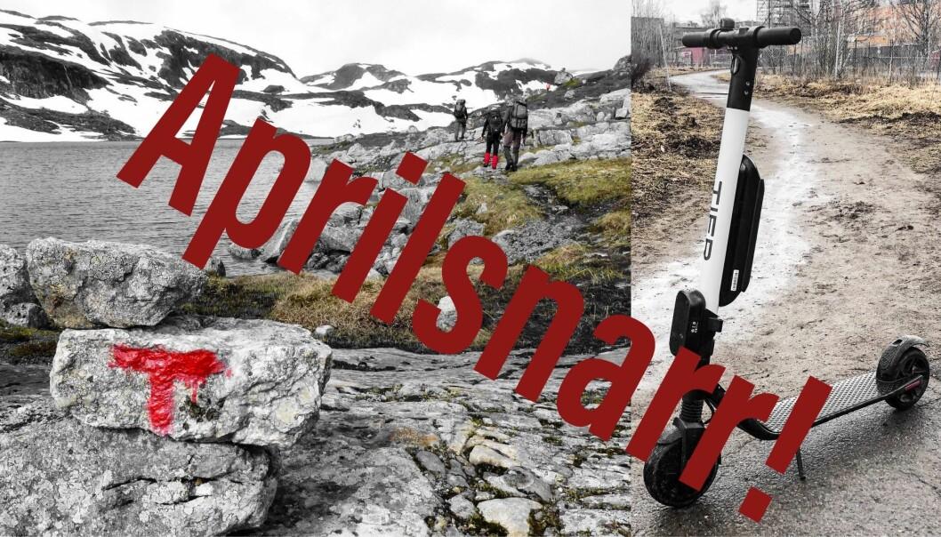 Tier (t.h.) er et av mange sparkesykkelkonsepter som etablerer seg i Oslo. Nå kommer konkurrenten RiesenRad.nu til Norge, men satser utenbys.