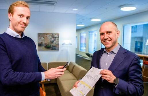 DNB valgte konkurrentens startup til fakturaskanning i mobilappen: