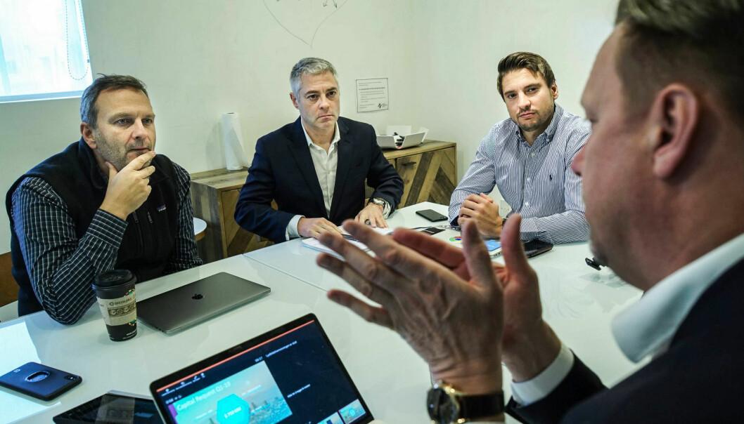 Oppstartsselskapet sPerformance har reist til Silicon Valley for å møte investorer og utforske akselerator-miljøet.
