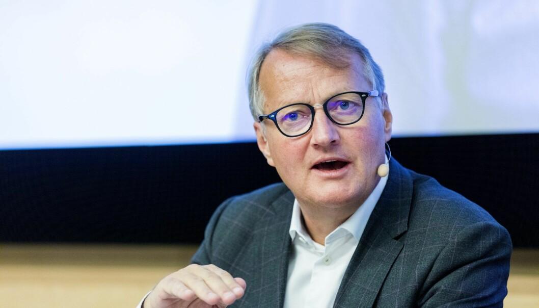 Konsernsjef Rune Bjerke. Arkivfoto: Gorm Kallestad / NTB scanpix