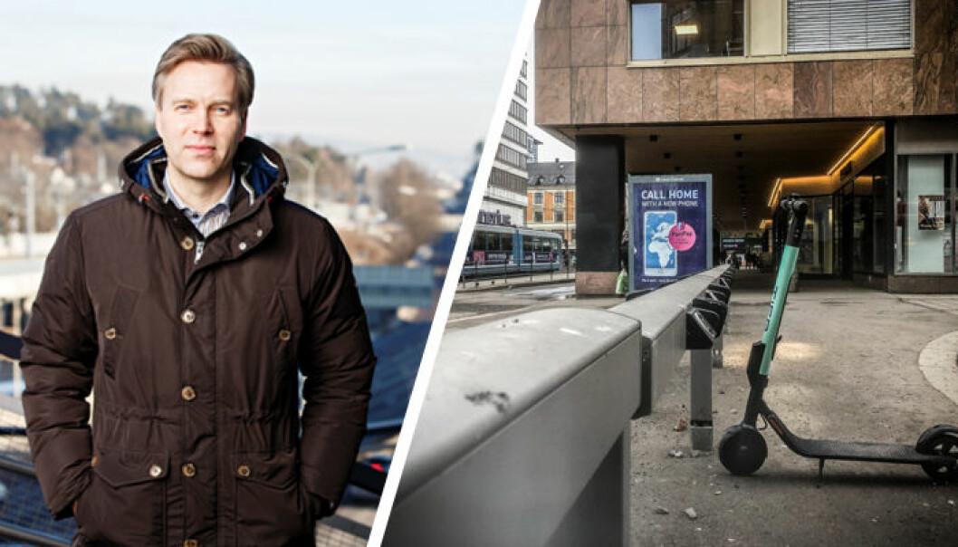 Jon Berge, informasjonsdirektør i IF skadeforsikring. Foto: IF. / Vilde Mebust Erichsen.