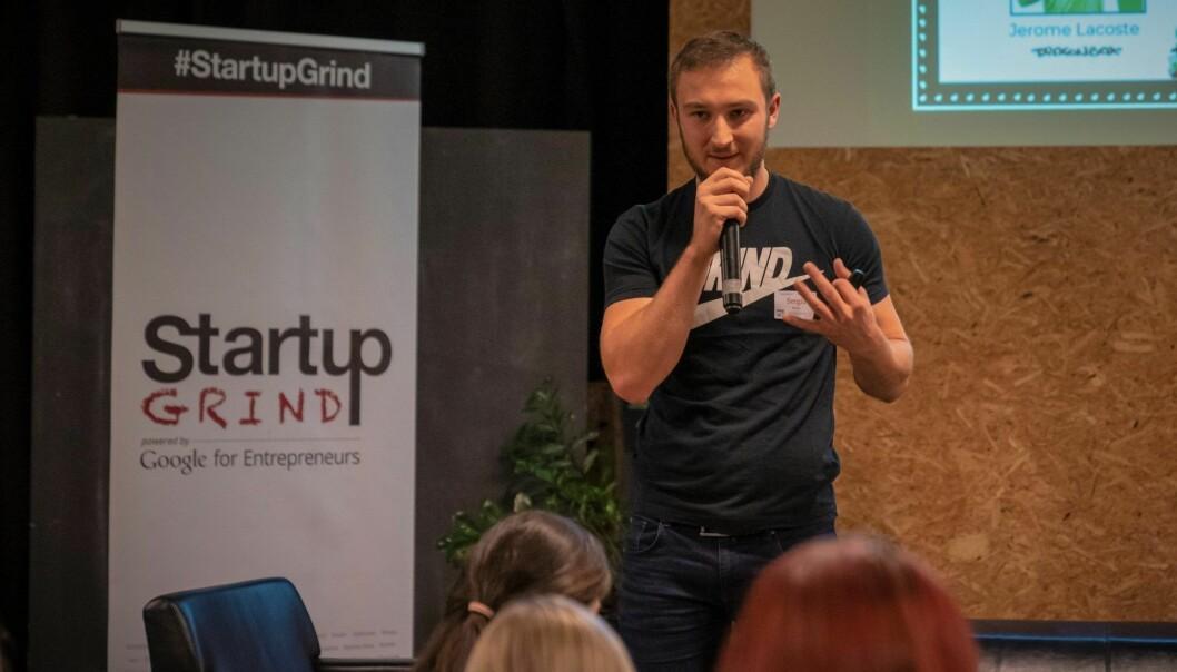 Direktør i Startup Grind Oslo, Sergiu Maznic. Foto: Startup Grind