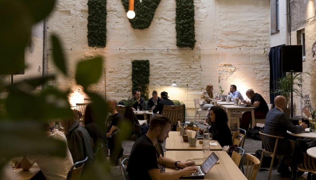 Mesh, et av de mest populære coworking-spacesene i Norge. Arkivfoto: Alex Asensi