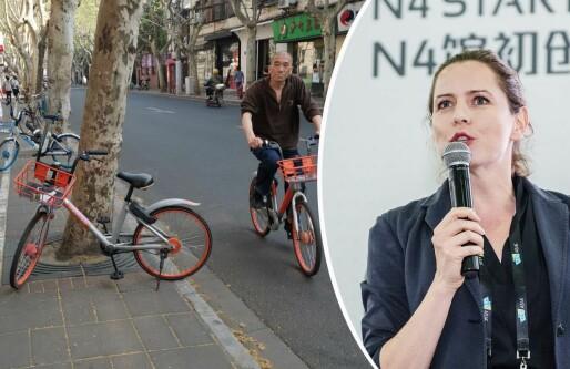 3 kinesiske knep som kan hjelpe Oslo å få skikk på sparkesyklene