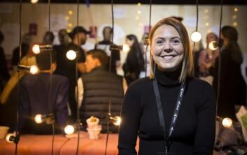 Elise Landsem i Folkeinvest. Foto: Per-Ivar Nikolaisen