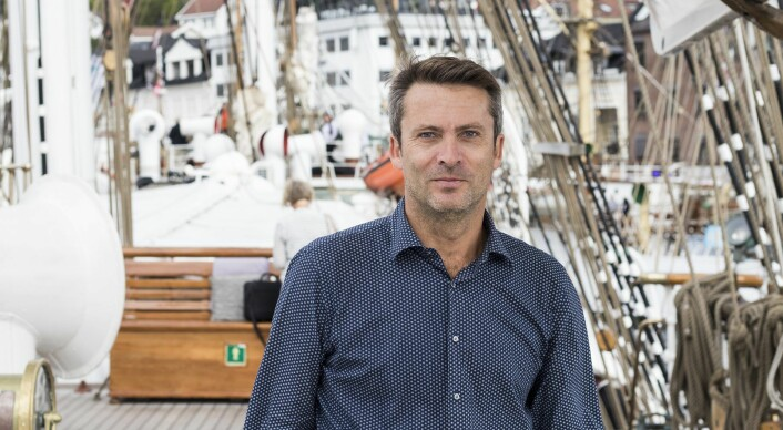 Daniel Ras-Vidal under Arendalsuka i år. Foto: Per-Ivar Nikolaisen