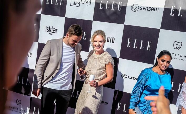 Jeanette Dyhre Kvisvik på lansering av Villoids nettbutikk under ELLE-festen sommeren 2018. Foto: Vilde Mebust Erichsen