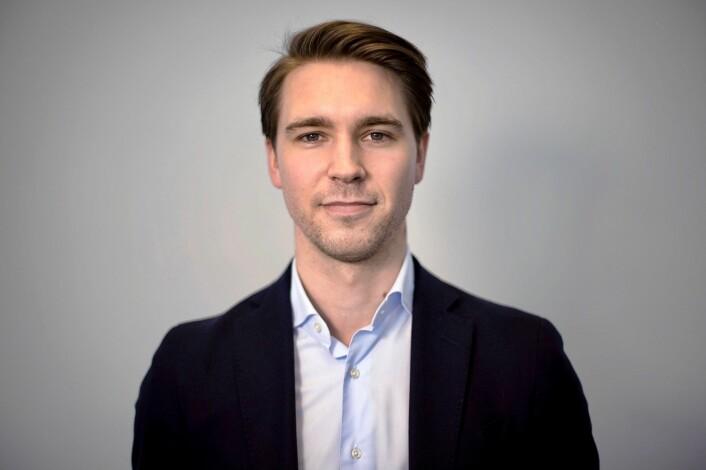 Country manager Andreas Våreid skal lede Oslo-kontoret til Oneflow. Foto: Presse