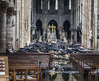 Død kunsthistoriker kan bidra til gjenoppbyggingen av Notre-Dame: Sto bak verdens mest detaljerte 3D-modell