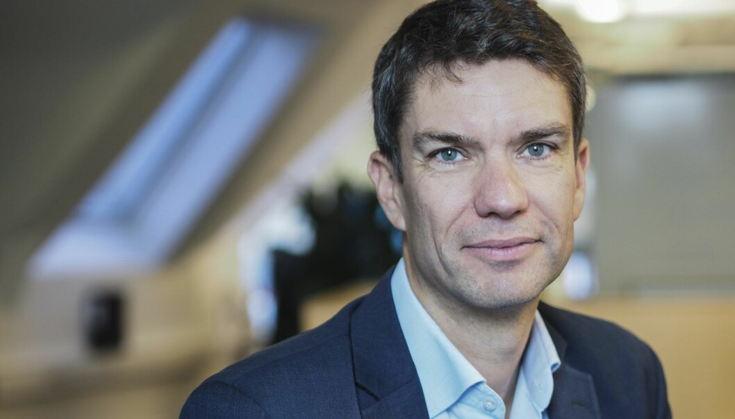 Anders Skoe. Foto: Schibsted