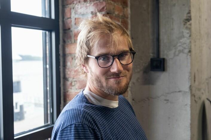 Fredrik Thomassen, gründer og leder i Konsus. Foto: Torill Henriksen