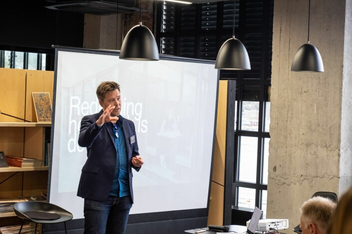 Knut Helge Teppan, CDO i Huddly Inc. Foto: Magnus Peter Harnes