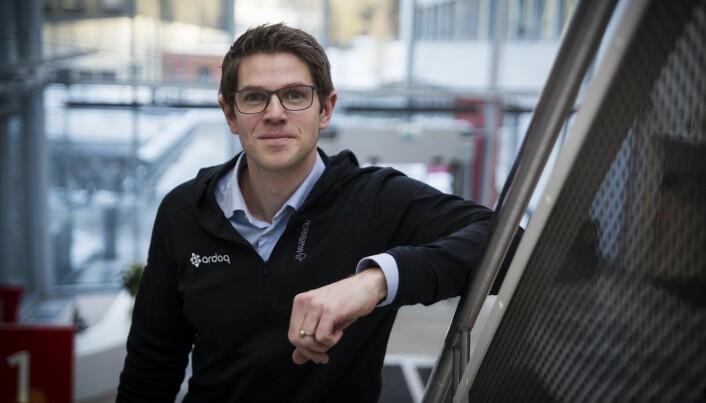 CEO Magnus Valmot i Ardoq. Foto: Per-Ivar Nikolaisen