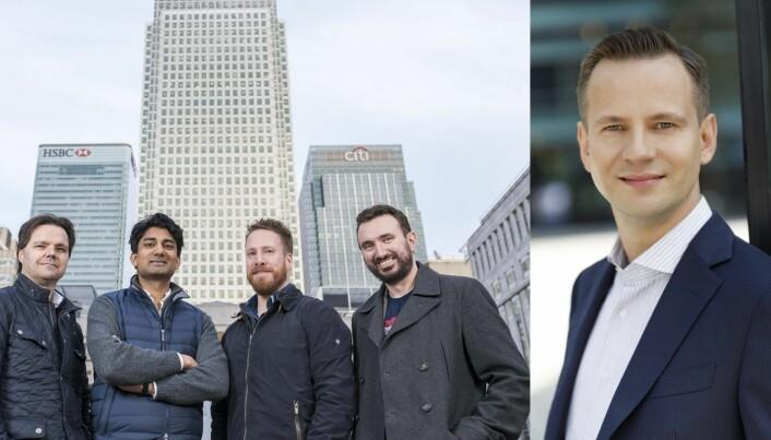 Stig Myrseth(t.h) og Dovre Forvaltning slo seg sammen med Huddlestock-gjengen i 2018.