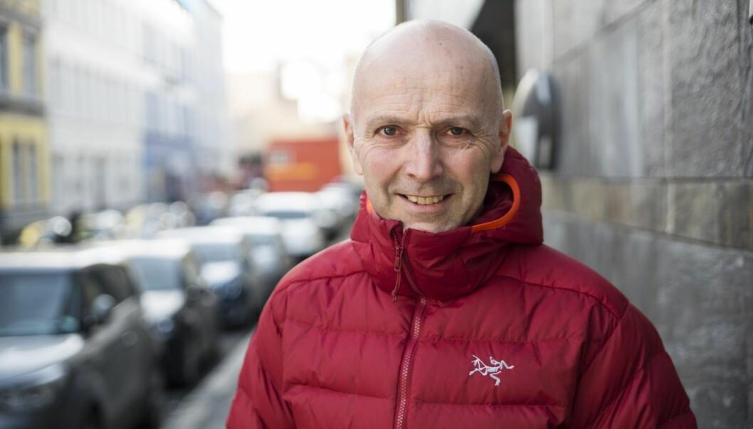 Konsernsjef i Tine, Gunnar Hovland. Foto: Per-Ivar Nikolaisen