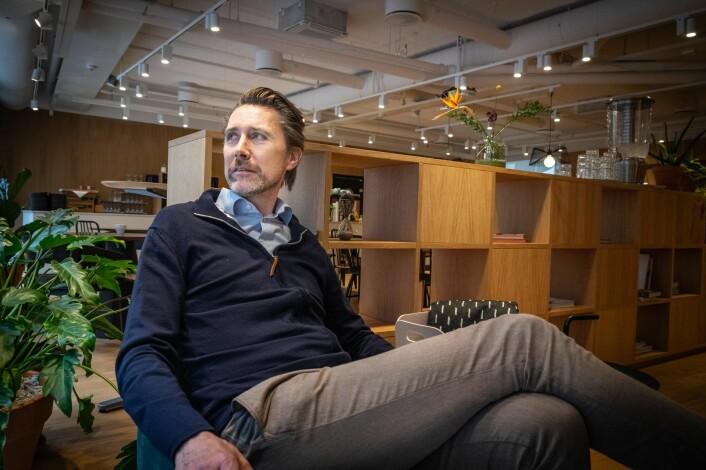 Anders Børde. Foto: Magnus Peter Harnes
