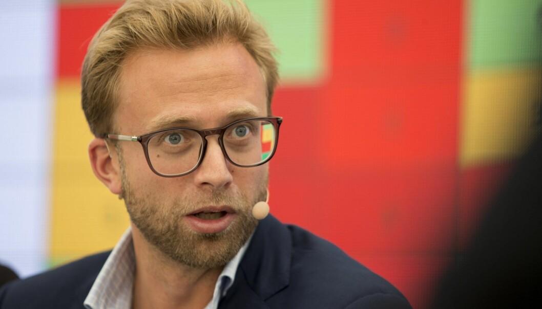 Digitaliseringsminister Nikolai Astrup (H). Foto: Torstein Bøe / NTB scanpix
