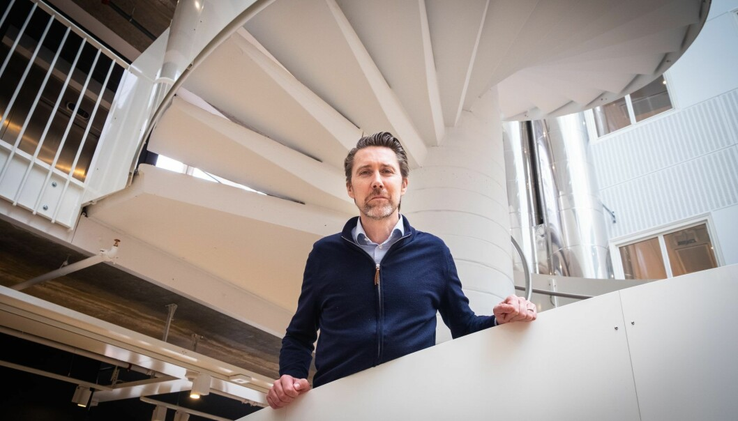 """Etter tre år med intens jobbing har Anders Børde nå en """"vanlig"""" lønningsliste i sitt selskap, Moblrn. Foto: Magnus Peter Harnes"""