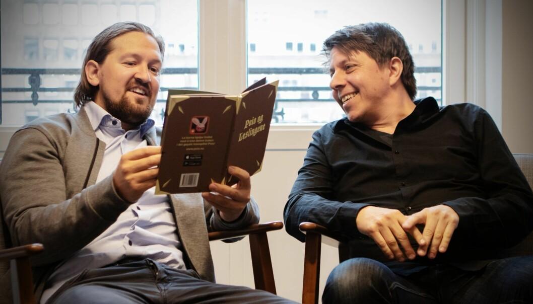 Åsmund Furuseth i Kahoot og Daniel Senn i Poio. Foto: Presse