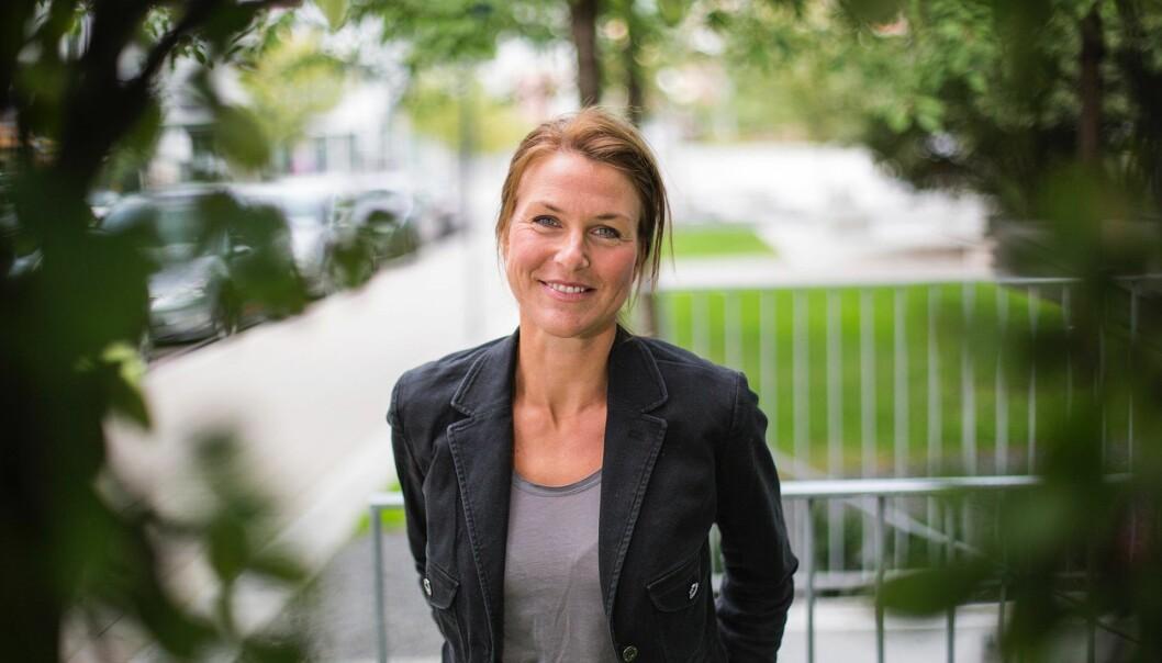 """Helene Loe Colman, førsteamanuensis på institutt for strategi og entreprenørskap ved Handelshøyskolen BI. Hun har blant annet skrevet boken """"Organisasjonsidentitet"""". Foto: Privat"""