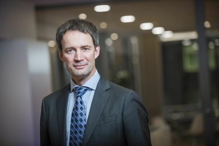 Svein Wiig, partner i KPMG Norge og ansvarlig for selskapets satsing mot bygg- og anleggsbransjen.
