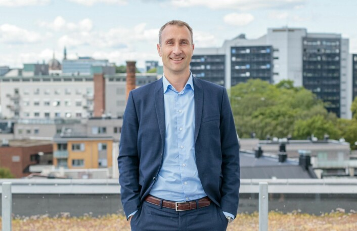 Ståle Rød, konsernsjef i Skanska Norge. Foto: Skanska