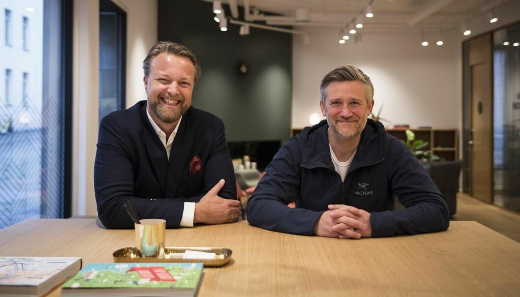 Jarle Holm og David Baum i Monner. Foto: Per-Ivar Nikolaisen