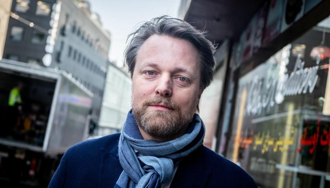 Medgründer og Monner-sjef Jarle Holm.