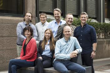 Deler av Monner-teamet, som innen året skal dobles fra nå 12 personer.