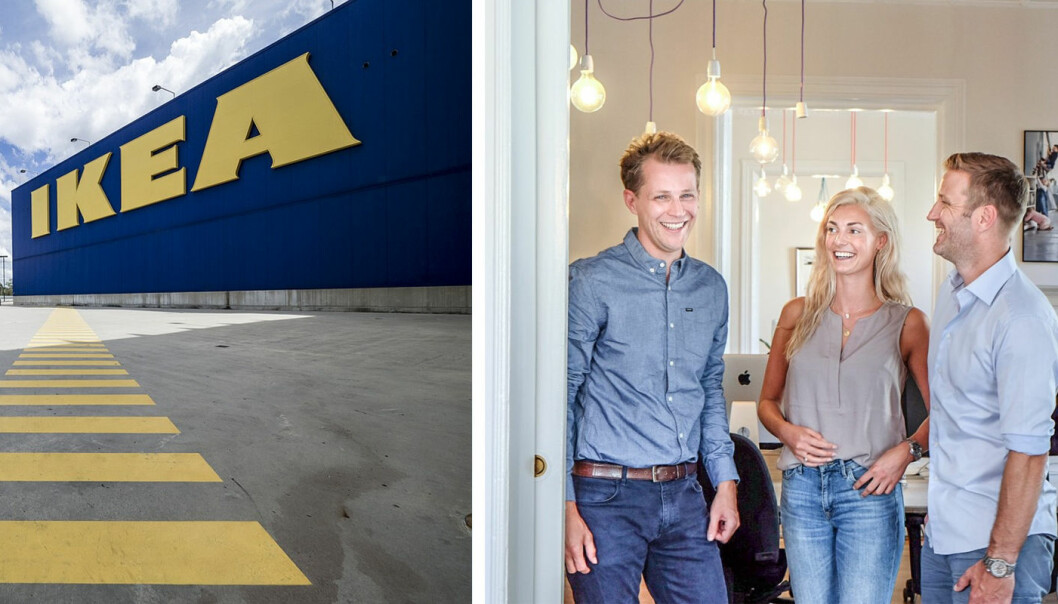 Ikea og Luado inngår samarbeid.