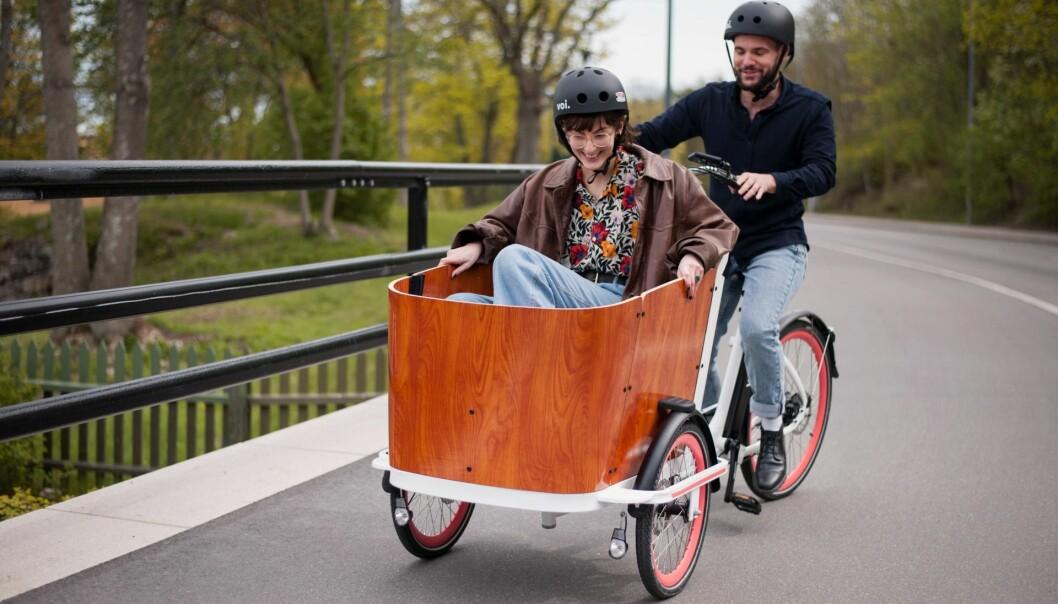 VOI Cargo Bike.